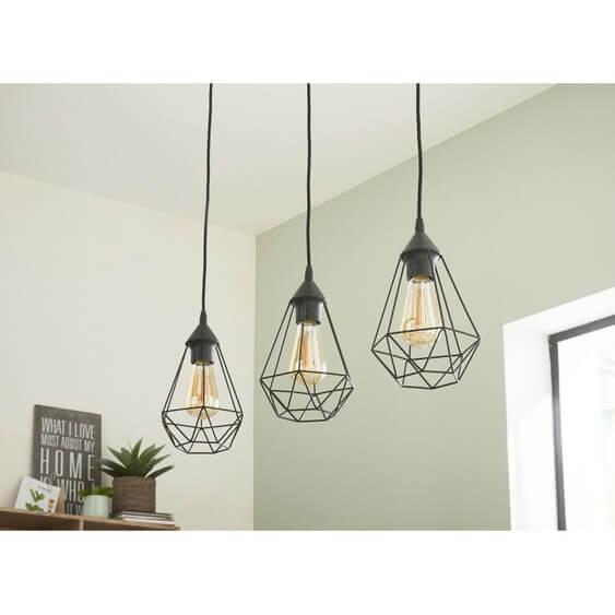 suspension style industriel byron diam17 5 leroy merlin. Black Bedroom Furniture Sets. Home Design Ideas