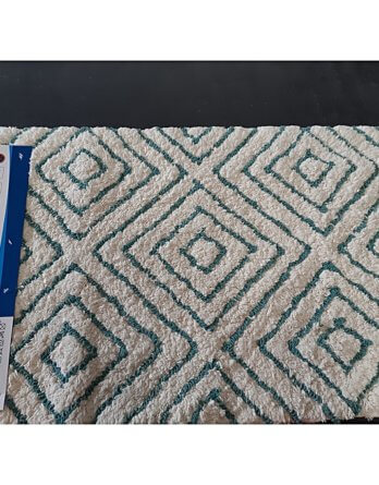 Tapis De Bain Vert 50x80 Cm Rombo